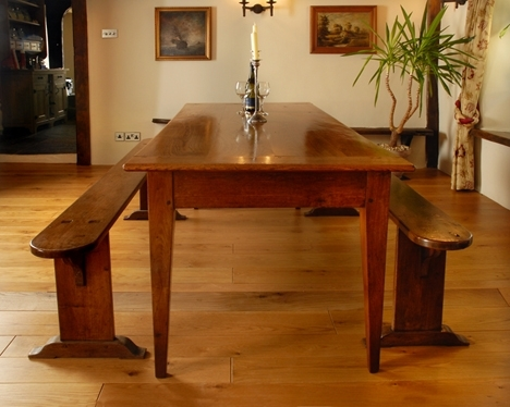 Antique Farmhouse Table,french Farmhouse Dining Room Table,kitchen With French Farmhouse Dining Tables (Image 5 of 25)