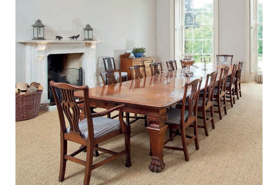 Antique Table & Chairs Victorian Mahogany Dining Table & 12 In Mahogany Dining Tables And 4 Chairs (Image 4 of 25)