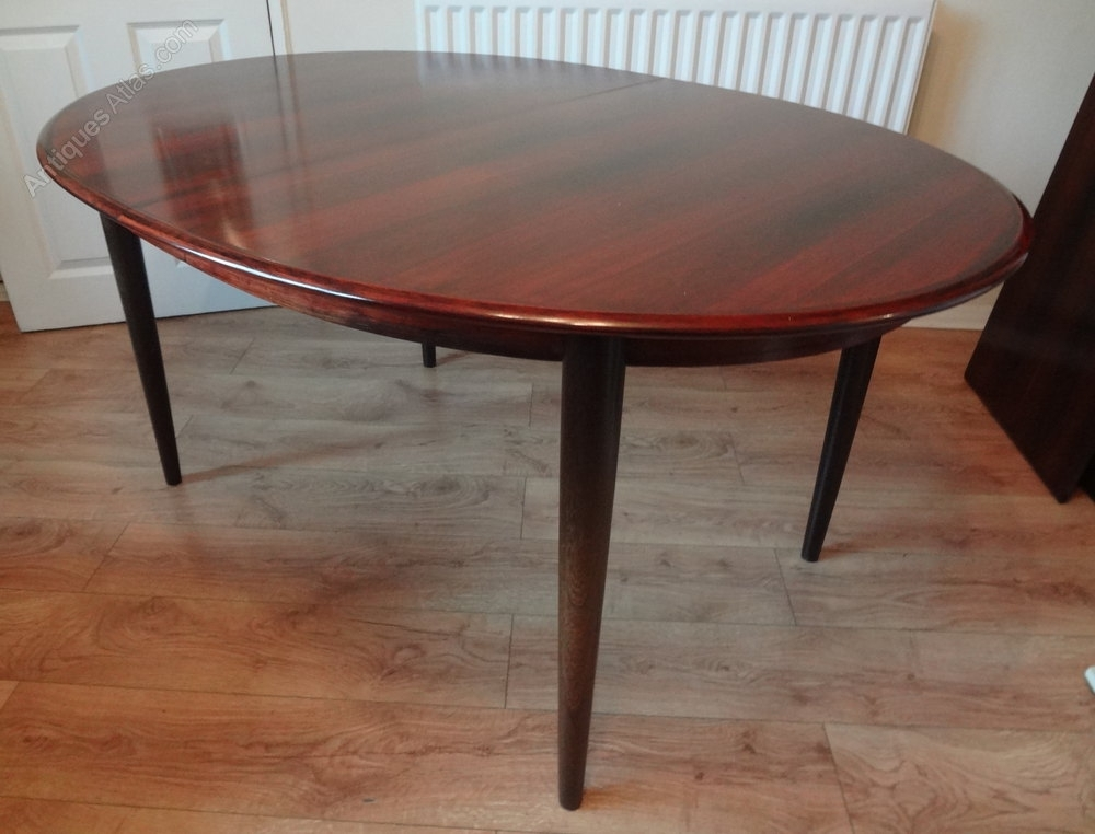 Antiques Atlas – Danish Rosewood Dining Table With Danish Dining Tables (Image 3 of 25)