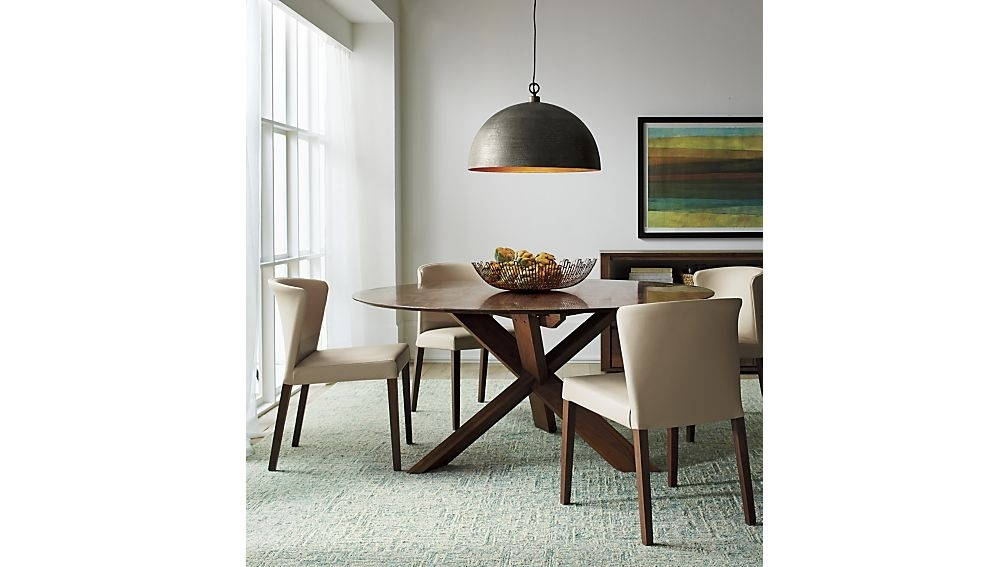 "Apex 64"" Round Dining Table + Reviews 