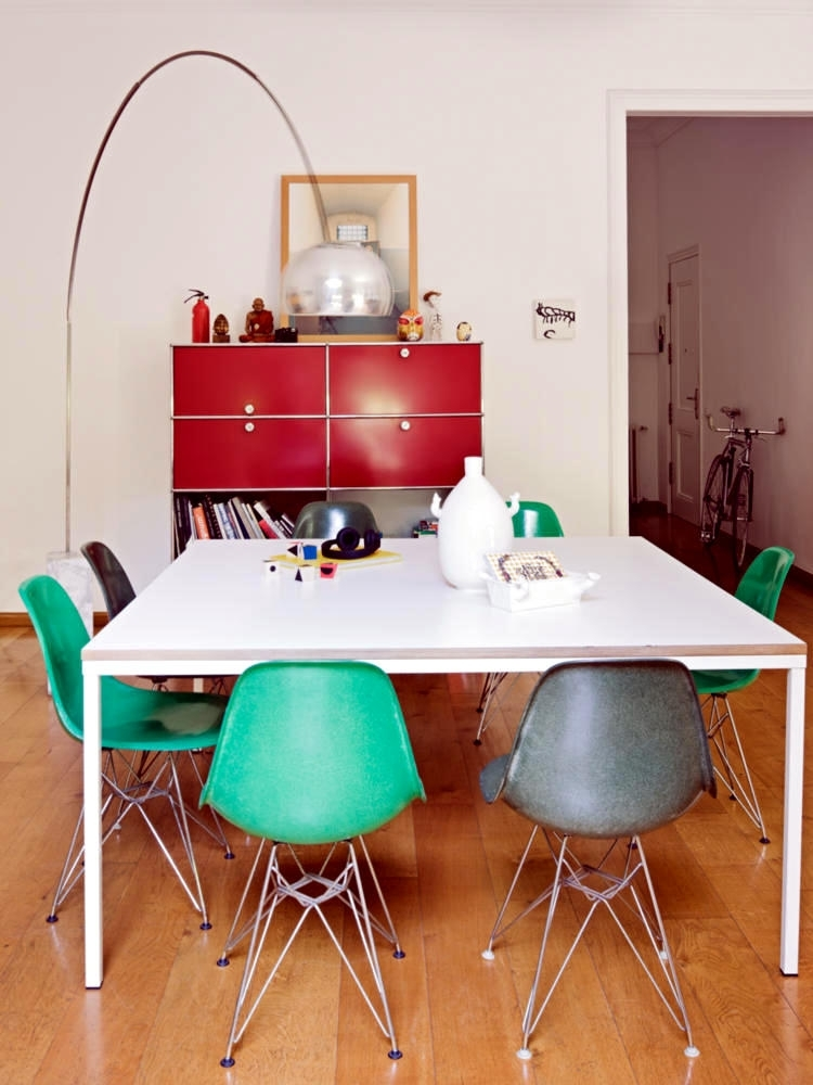 Arc Lamp Over The Table Of The Dining Room | Interior Design Ideas Inside Lamp Over Dining Tables (Image 7 of 25)