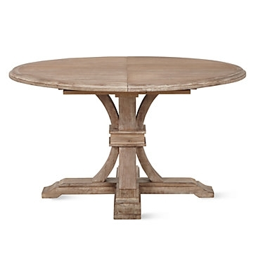 Archer Round Extendable Dining Table | Z Gallerie Inside Extendable Round Dining Tables (Image 2 of 25)