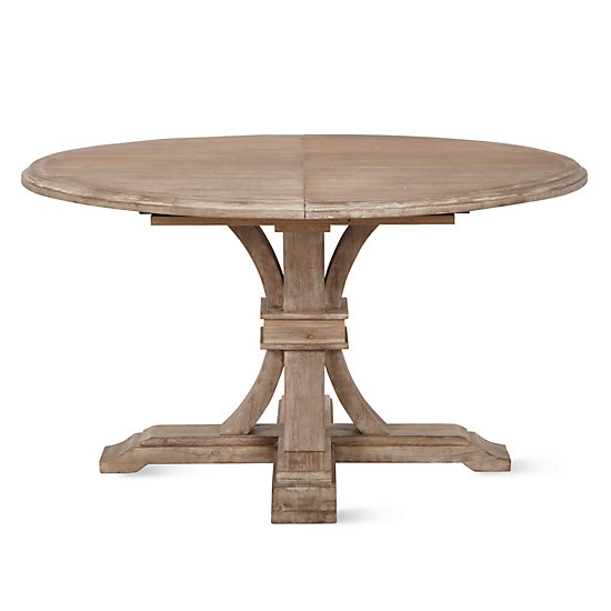 Archer Round Extendable Dining Table | Z Gallerie Within Round Extendable Dining Tables (Image 1 of 25)