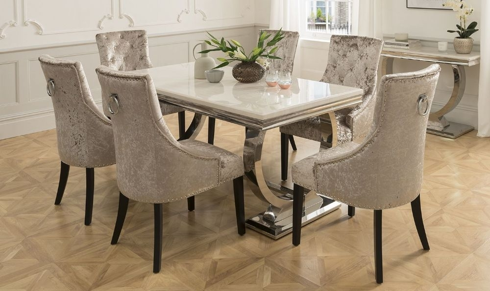 25 Photos Dining Tables And Six Chairs