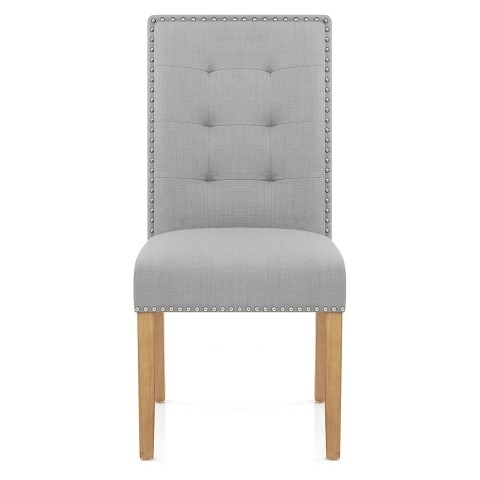 Arlington Dining Chair Grey Fabric – Atlantic Shopping With Regard To Grey Dining Chairs (Image 1 of 25)