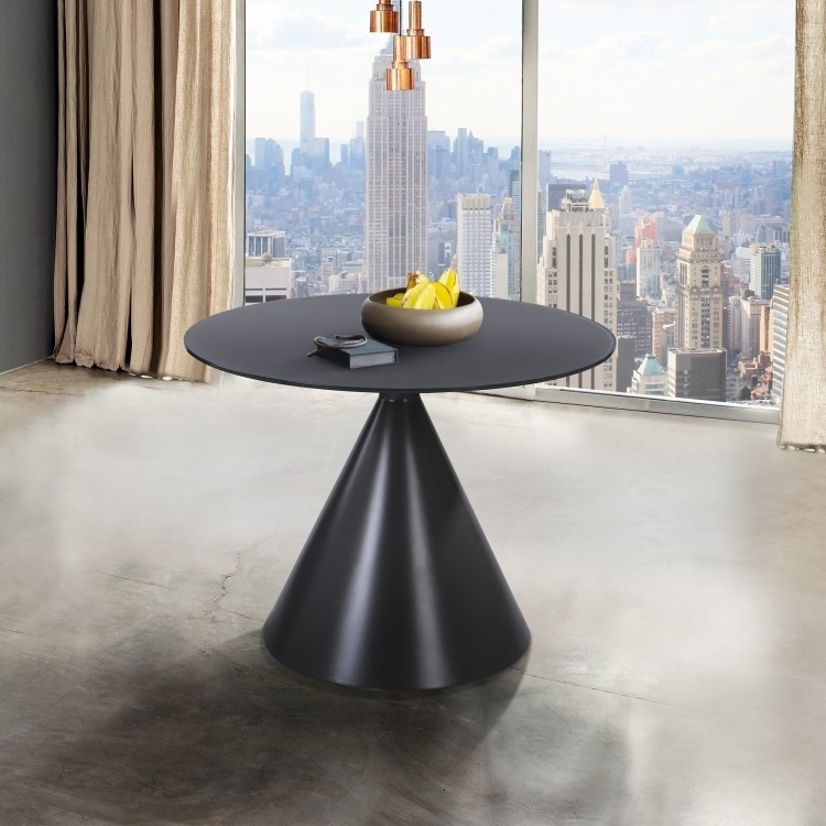 Armen Living Brittany Contemporary Dining Table With Regard To Brittany Dining Tables (Image 3 of 25)