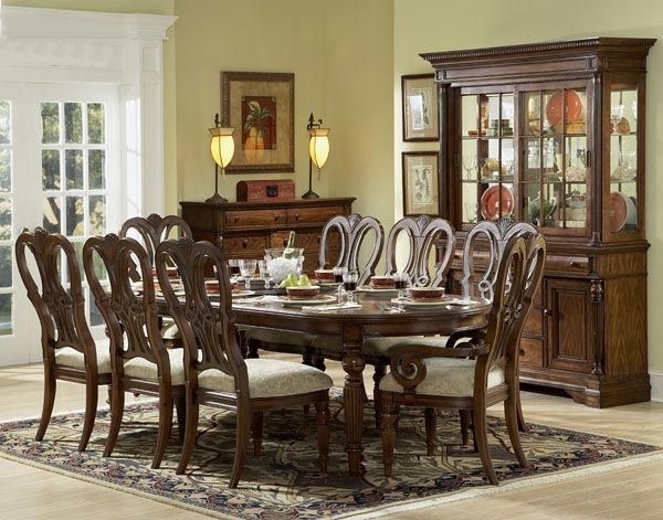 Arundel Mahogany Dining Table With Chairs | Dining Room | Pinterest With Regard To Mahogany Dining Tables Sets (Image 4 of 25)