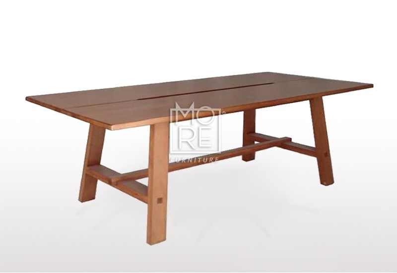 Asari 9Pcs Tassie Oak Dining Suite – More Furniture Pty Ltd Regarding Oak Dining Suite (Image 3 of 25)