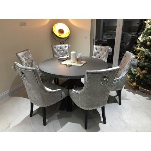 Ascot Dining Chair Mink Velvet – Atlantic Shopping Pertaining To Velvet Dining Chairs (Image 4 of 25)