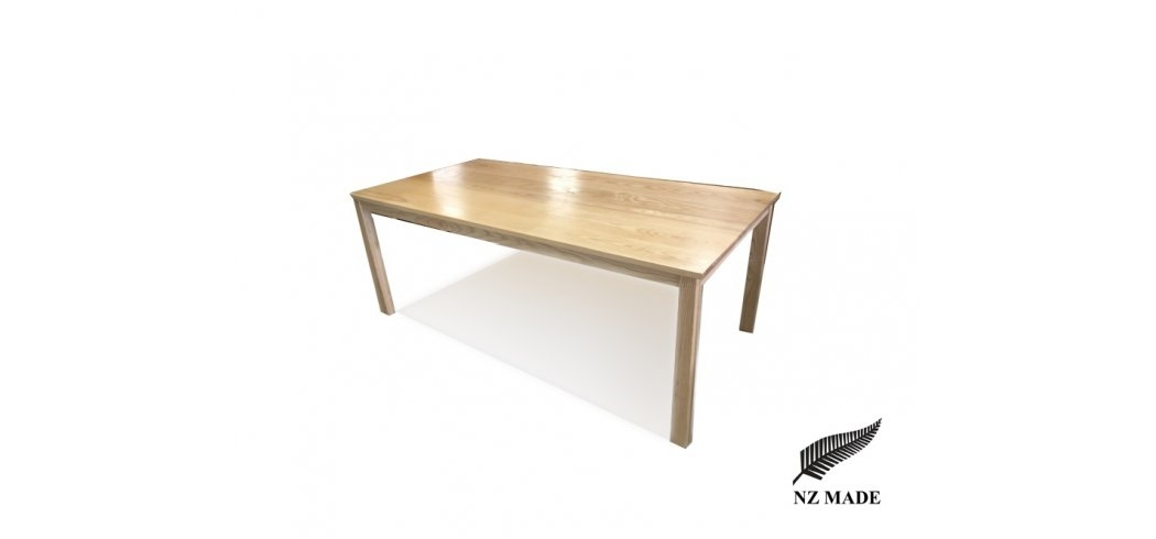 Ash Oak Dining Table Nz Made Throughout Lyon Dining Tables (Image 2 of 25)