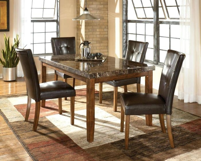 Ashley 5 Piece Dining Set Ivory Chairs 5 Piece Dining Collection The With Hyland 5 Piece Counter Sets With Stools (Image 2 of 25)