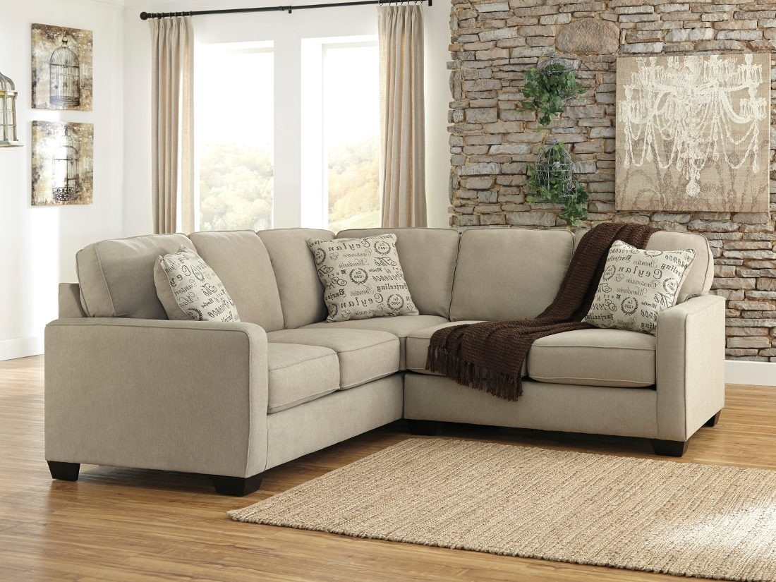 Ashley Furniture Alenya 2 Piece Sectional In Quartz | Local With Sierra Foam Ii 3 Piece Sectionals (Image 4 of 25)