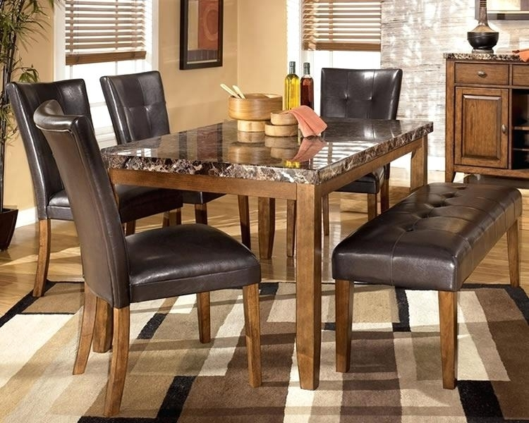 Ashley Furniture Table And Chairs Furniture Table Set Ashley In Hyland 5 Piece Counter Sets With Stools (Image 3 of 25)