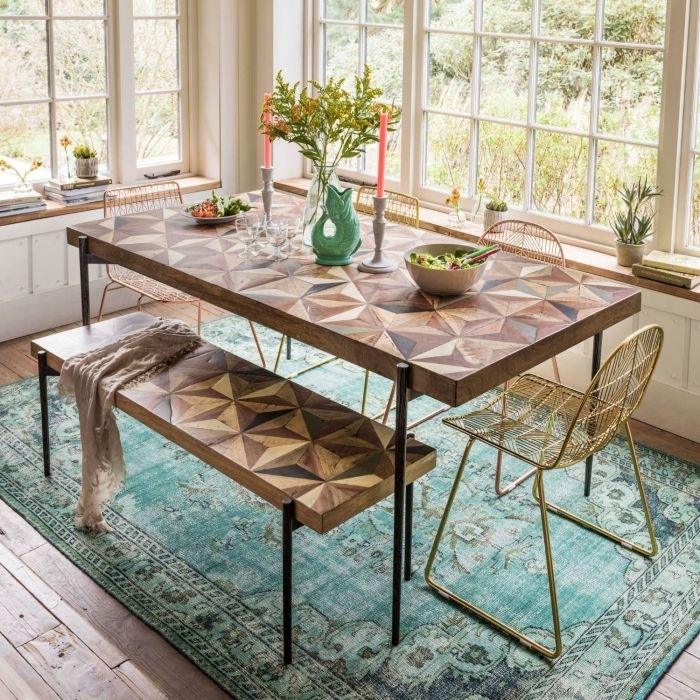 Ashton Dining Table | Graham & Green Inside Green Dining Tables (View 12 of 25)