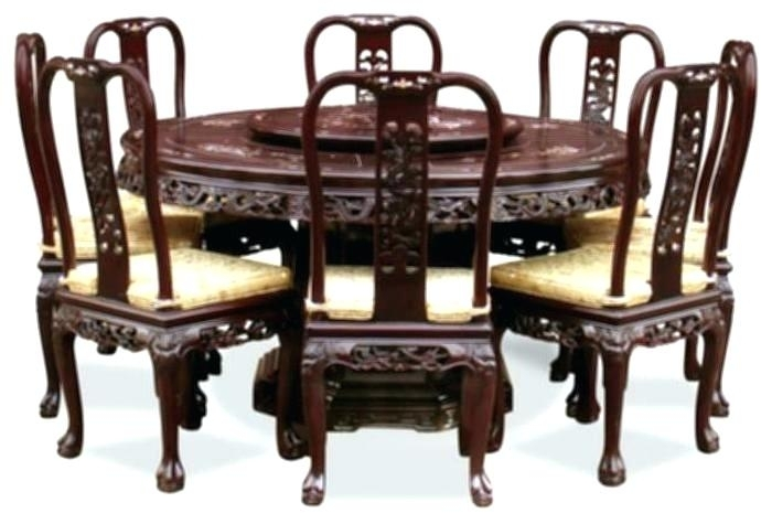 Asian Dining Room Sets – Dageek (View 6 of 25)