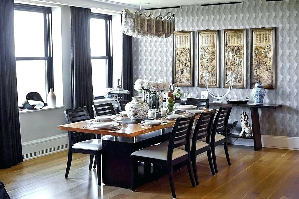 Asian Dining Table Pleasant Wallpaper Dining Rooms Modern Oriental Pertaining To Asian Dining Tables (View 24 of 25)