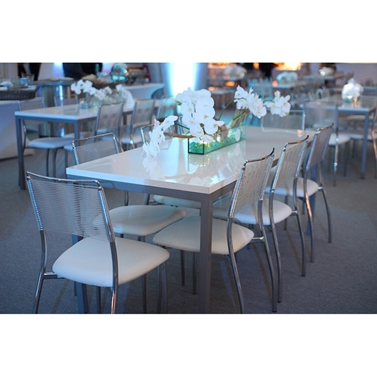 Aspen Dining Table | Popular Packages Rentals For Events Regarding Aspen Dining Tables (View 19 of 25)
