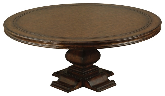 Aspen Round Dining Table – Traditional – Dining Tables – Other – In Aspen Dining Tables (Image 14 of 25)