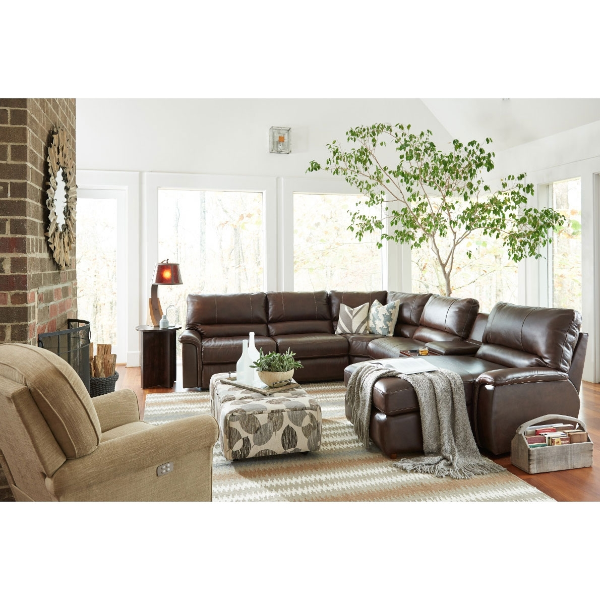 Aspen Sectional Within Aspen 2 Piece Sleeper Sectionals With Laf Chaise (Image 10 of 25)