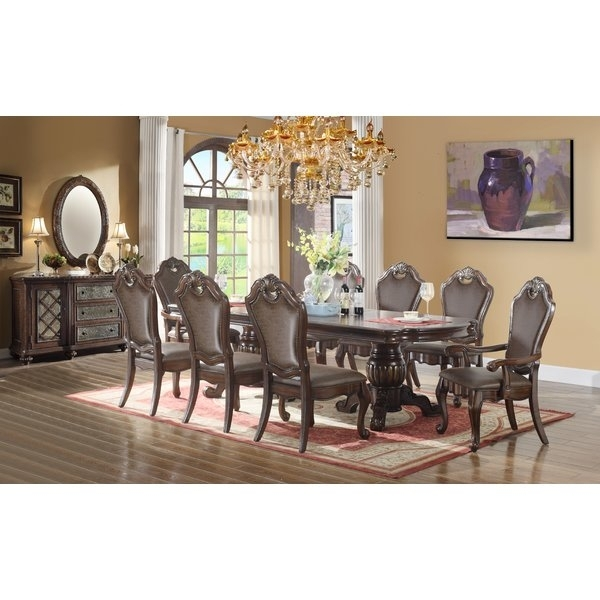 Astoria Grand Berwyn Drop Leaf Dining Table | Wayfair Regarding Dining Sets (View 22 of 25)