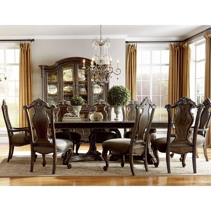 Astoria Grand Hepburn 9 Piece Dining Set | Dining Room | Pinterest Throughout Valencia 72 Inch 6 Piece Dining Sets (View 12 of 25)