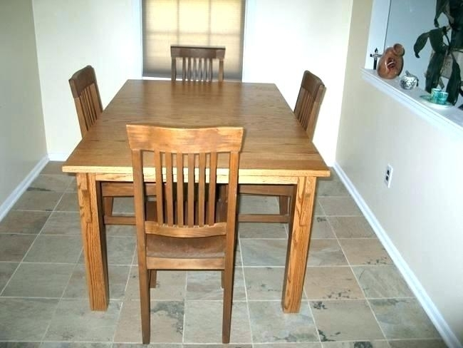 Astounding Mission Dining Table Craftsman Style Plans Palettes Within Craftsman Round Dining Tables (Image 4 of 25)