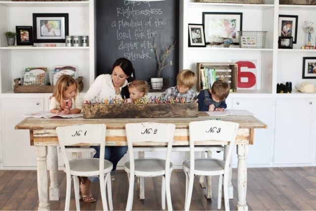 At Home: A Blogjoanna Gaines | House Decor | Pinterest | Home Within Magnolia Home Array Dining Tables By Joanna Gaines (Image 7 of 25)