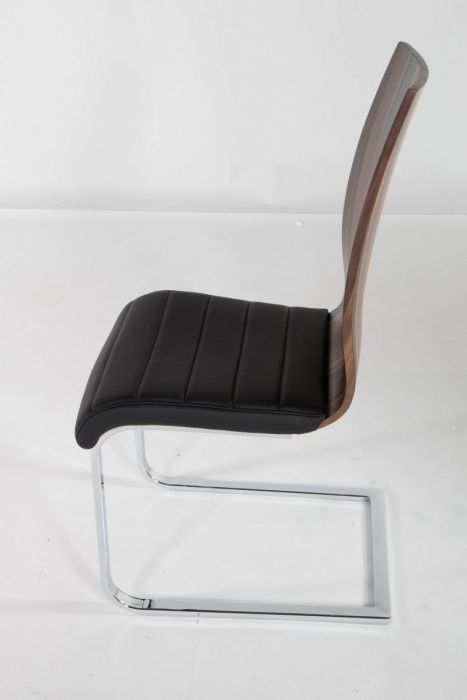At Home Usa Skudc20103 Delfina Veneer Low Back Dining Chair – (Set Pertaining To Delfina Dining Tables (Image 2 of 25)