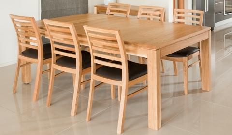 Attra Oak Dining – Furniture Ranges – Browsecategory – Sorensen Inside Oak Dining Suite (Image 4 of 25)