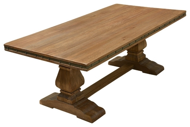 Attractive Dining Table Pedestal Base At Aimeeruiztcm Com Inside Laurent Rectangle Dining Tables (Image 3 of 25)