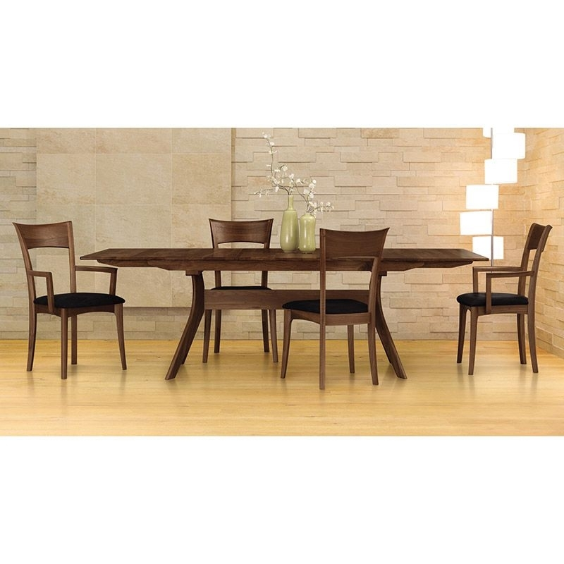 Audrey Walnut Extension Dining Table | Copeland Dining Furniture Throughout Teagan Extension Dining Tables (Image 1 of 25)