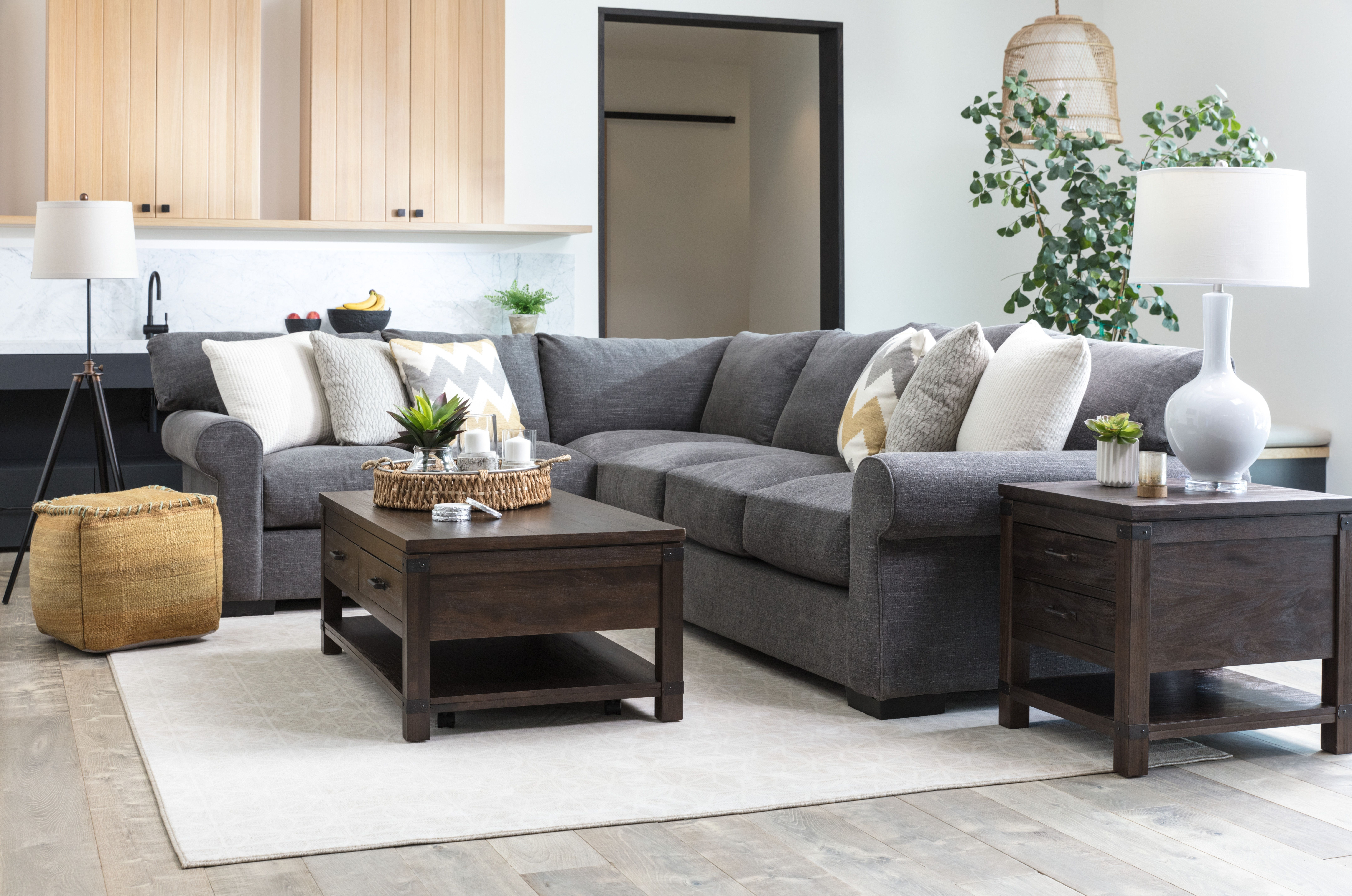 Aurora 2 Piece Sectional (Image 6 of 25)