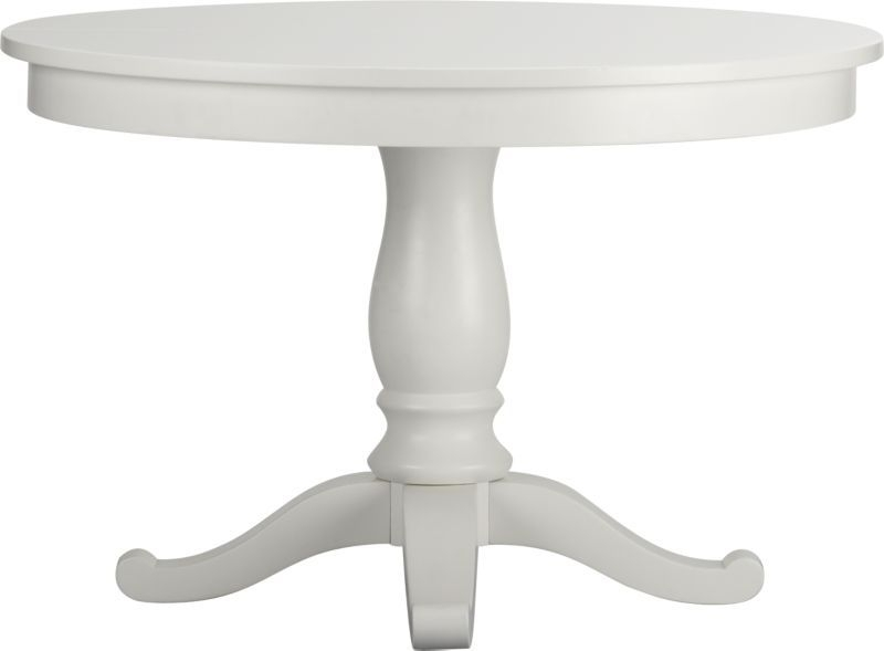"""Avalon 45"""" White Extension Dining Table   Inspired Home   Pinterest Regarding Jefferson Extension Round Dining Tables (Image 7 of 25)"""