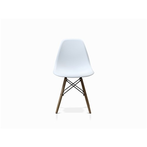 Avalon Replica Eames White Dining Chair | James Lane Furniture – In White Dining Chairs (Photo 20 of 25)