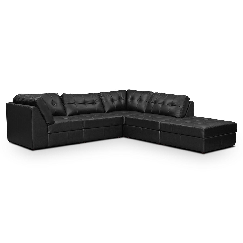 Aventura Leather 5 Pc (Image 4 of 25)
