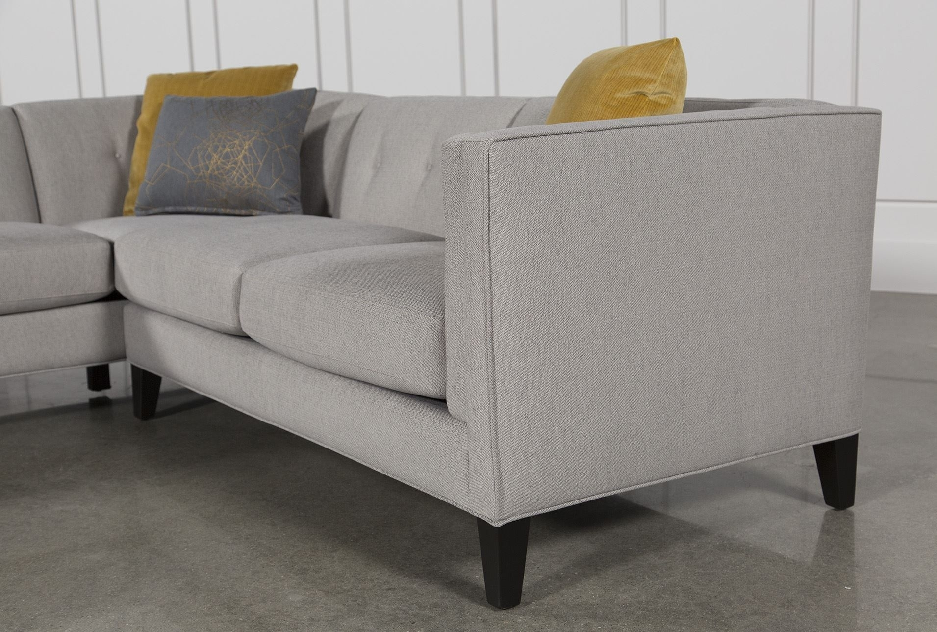 Avery 2 Piece Sectional W/laf Armless Chaise | Decorating Regarding Avery 2 Piece Sectionals With Laf Armless Chaise (Image 4 of 25)