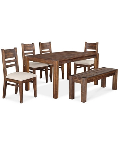 Avondale 6 Pc Dining Room Set Created For Macy S 60 Intended Macys Intended For Macie 5 Piece Round Dining Sets (Image 8 of 25)