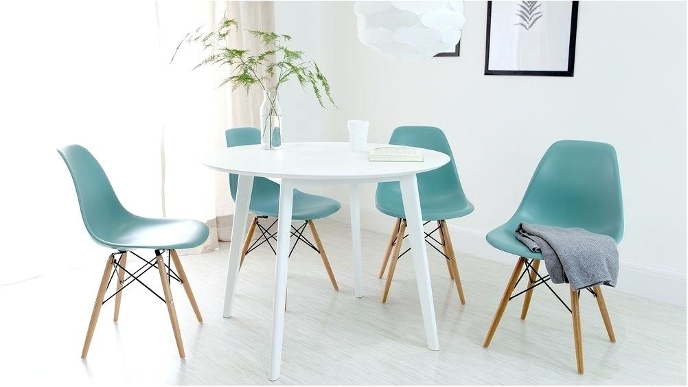 Awesome Small Round White Dining Table Uk Nz Breakfast Set For Intended For Small Round White Dining Tables (Image 2 of 25)