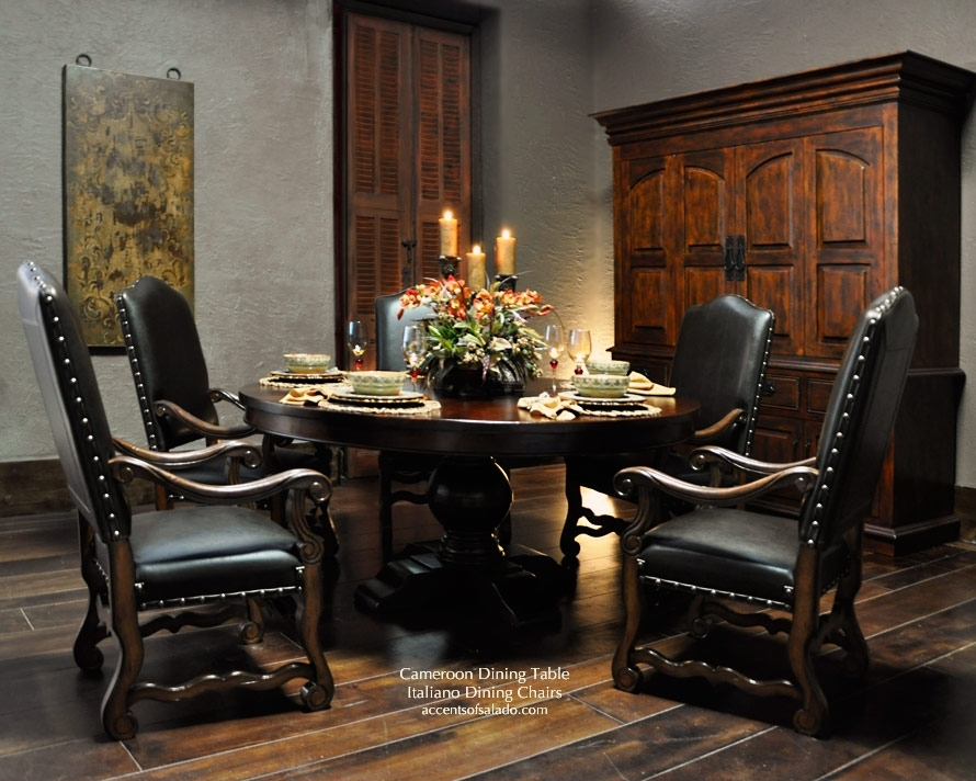 Awesome Tuscan Dining Table Of Old World Room Tables | Fayeflam Pertaining To Toscana Dining Tables (Image 2 of 25)