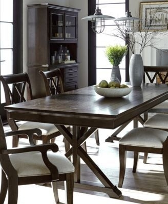 Baker Street Dining Furniture, 7 Pc (Image 6 of 25)