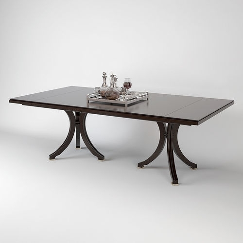 Baker Vienna Dining Table 3D | Cgtrader With Vienna Dining Tables (Image 4 of 25)