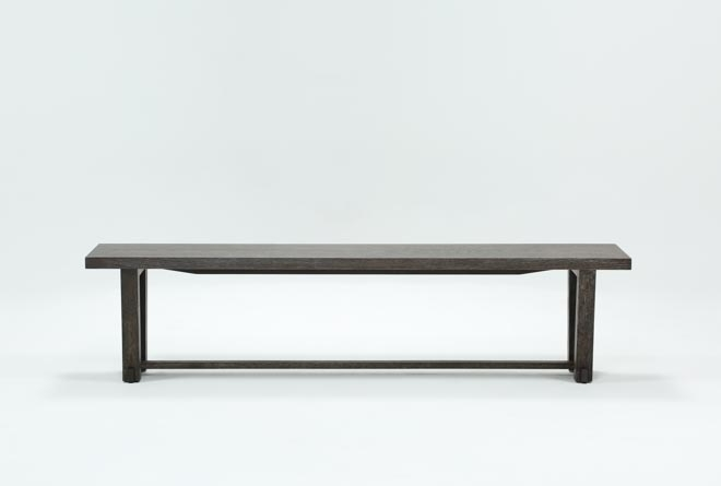 Bale Rustic Grey Dining Bench | Living Spaces Intended For Bale Rustic Grey Dining Tables (Image 2 of 25)