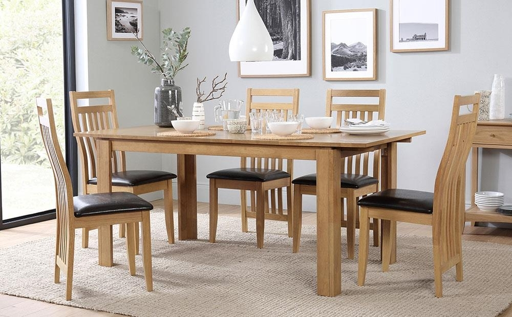Bali Extending Dining Table And 6 Chairs Set Only £ (Image 5 of 25)