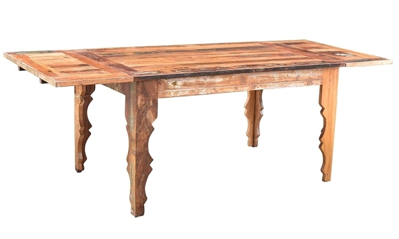 Bali Handmade Solid Wood Extension Dining Table | Haynes Furniture Within Balinese Dining Tables (View 19 of 25)