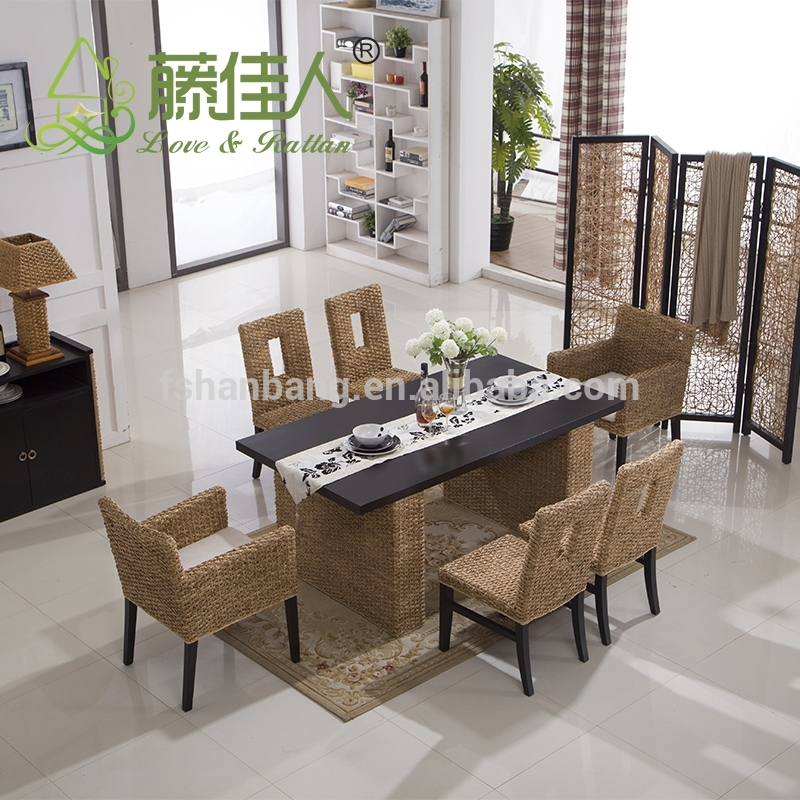 Bali Round Table And Chair Set Rattan Dining Set Wicker – Buy Round Throughout Bali Dining Tables (Image 6 of 25)