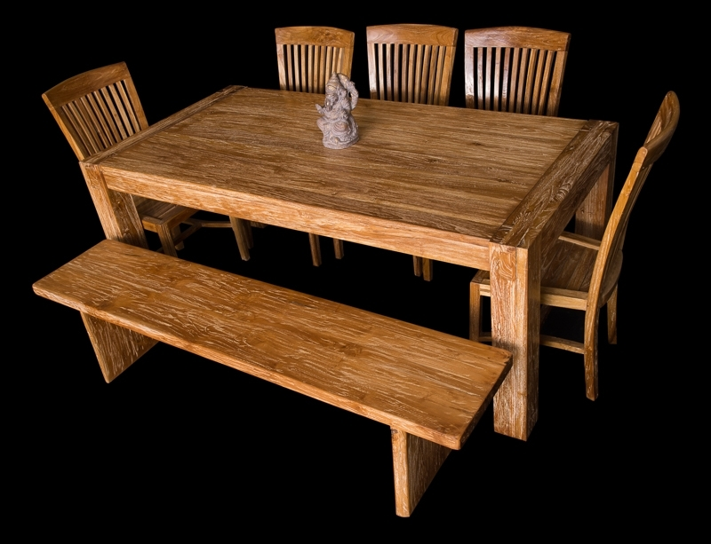 Bali Teak Furniture Portland: Quality Teak Wood Chairs & Stools Within Bali Dining Sets (View 18 of 25)