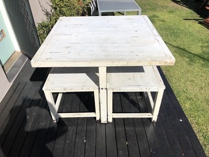 Balinese Dining Table & Chairs | Dining Tables | Gumtree Australia Within Balinese Dining Tables (View 10 of 25)