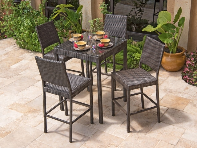 Bar And Counter Sets – Chair King Within Market 7 Piece Counter Sets (Image 5 of 25)