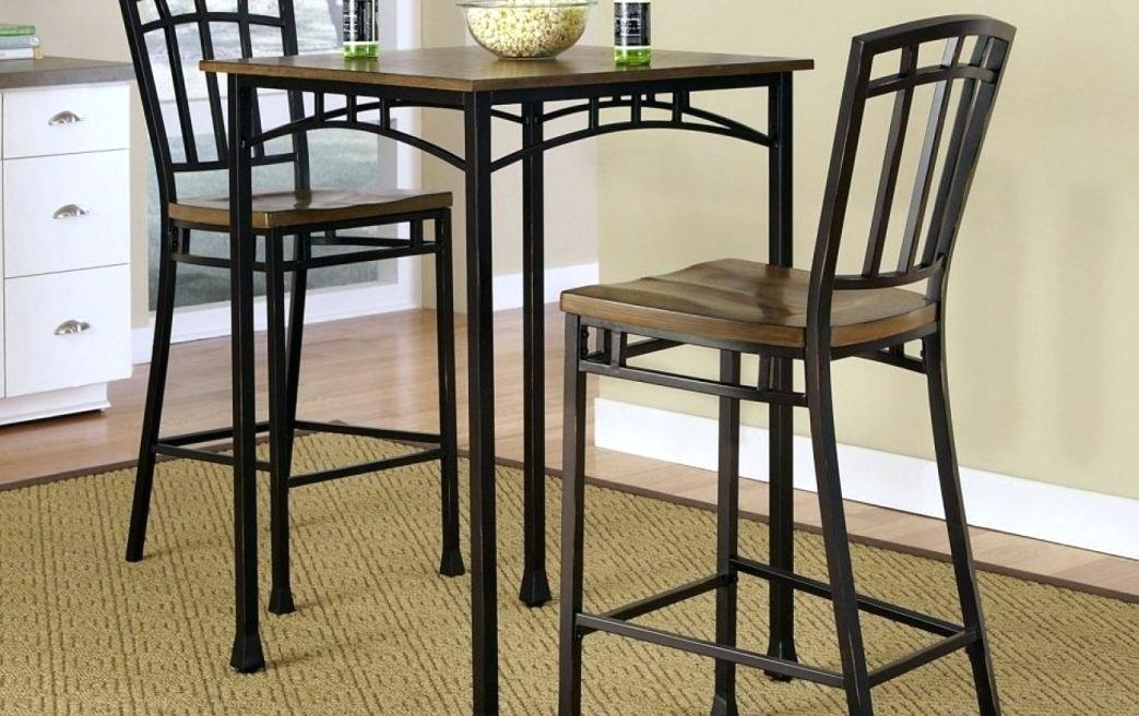 Bar Height Table And Stools Large Size Of Small Bar Height Table Throughout Hyland 5 Piece Counter Sets With Stools (View 21 of 25)