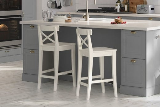 Bar Stools & Counter Height Chairs – Ikea Pertaining To Valencia 4 Piece Counter Sets With Bench & Counterstool (Image 3 of 25)